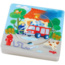 HABA Fire! Fire! Wooden Puzzle