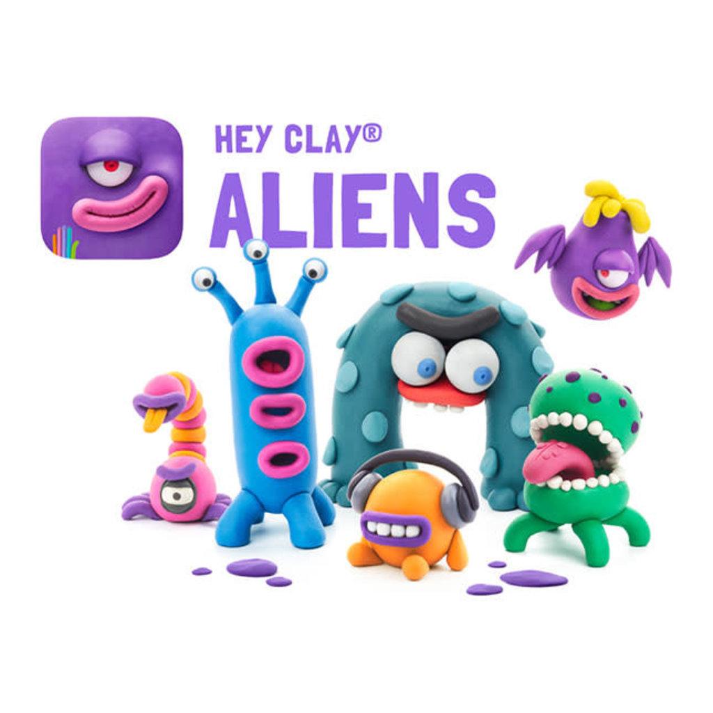 Fat Brain Hey Clay  Aliens