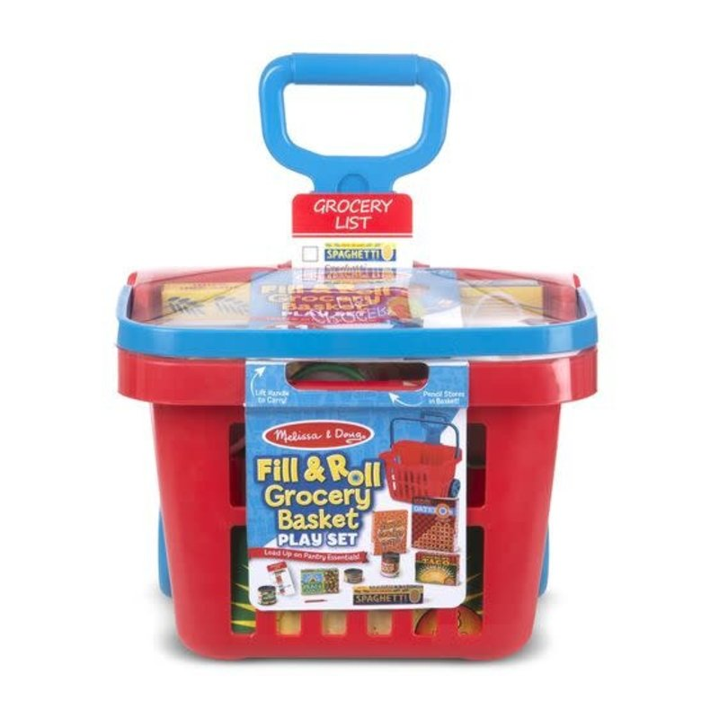 Melissa & Doug Fill & Roll Grocery Basket