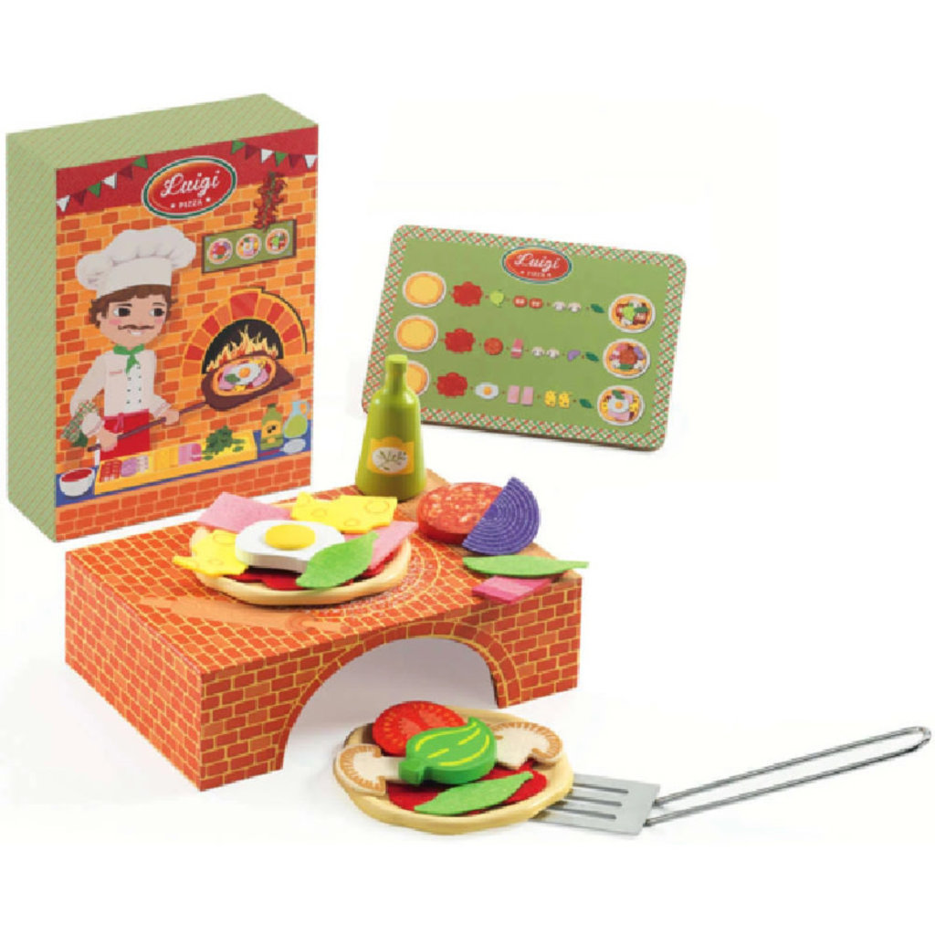 DJECO Luigi Brick Oven Pizza