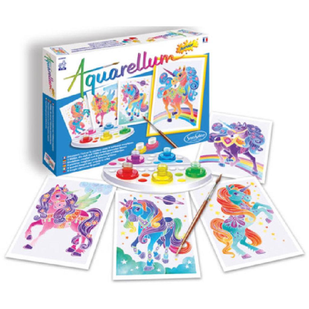 Aquarellum Unicorns Aquarellum