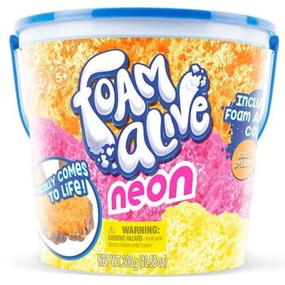 Play Visions Neon Foam Alive Tri-Color Bucket
