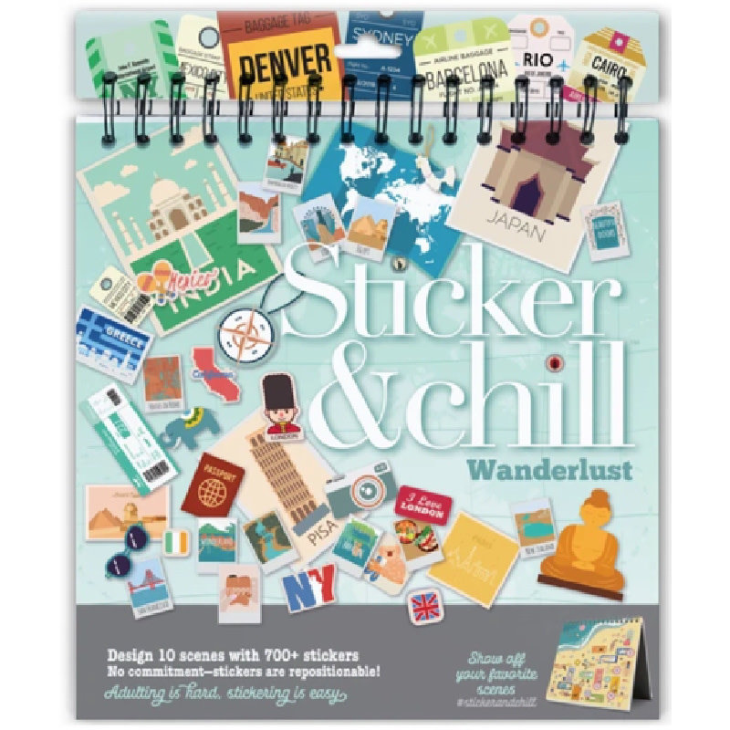 Ann Williams Sticker & Chill Wanderlust