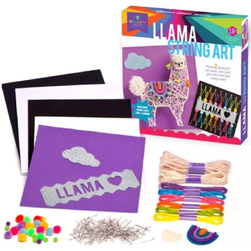Ann Williams Craft-tastic Llama String Art Kit