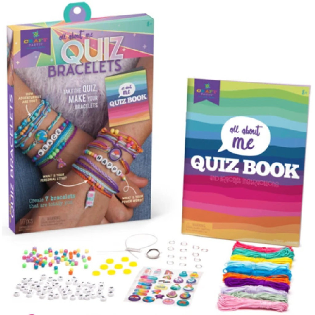 Ann Williams Craft-tastic All About Me Quiz Bracelets