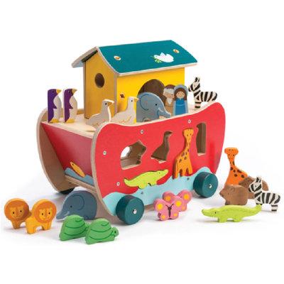 Tender Leaf Toys Noah's Shape Sorter Ark