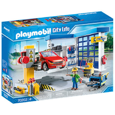 Playmobil Car Repair Garage