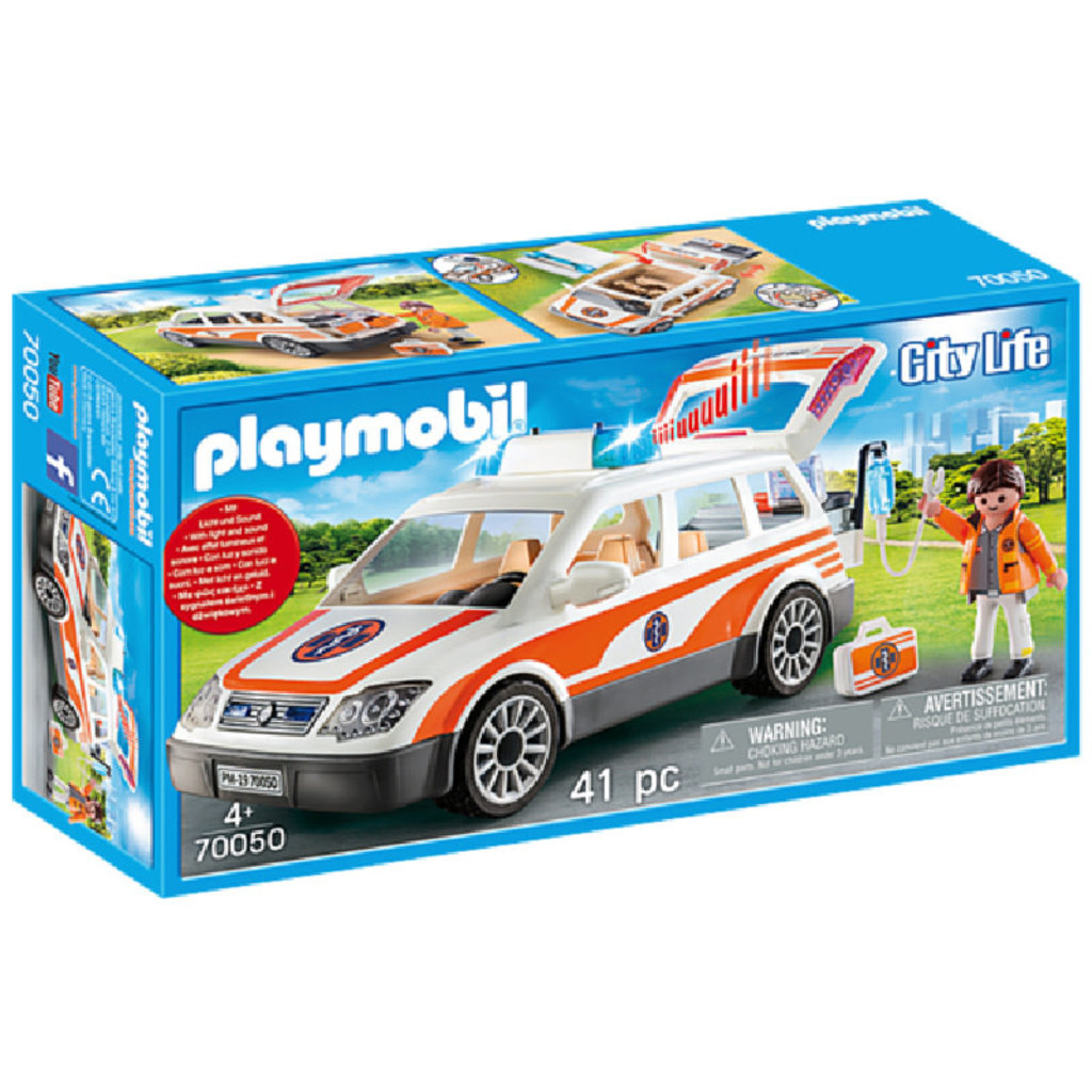 Playmobil Emergency Car with Siren
