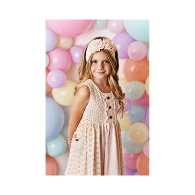 Swoon Baby Swoon Baby | Blush Petal Prim Tier Dress