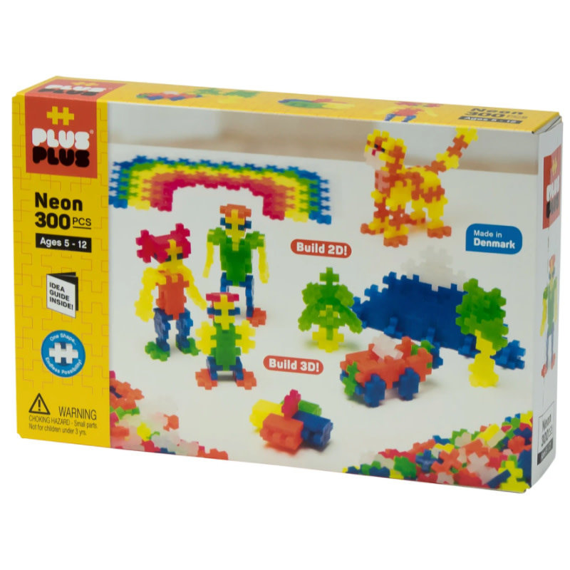Plus-Plus Neon Basic Set,  300pc