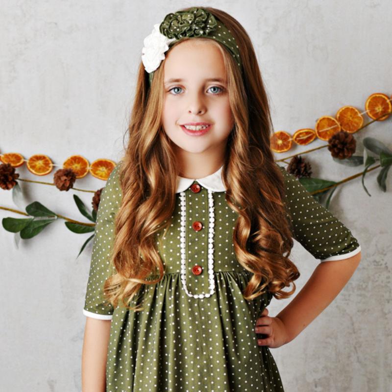 Swoon Baby Charlotte Petal Dottie Dress - Toddler