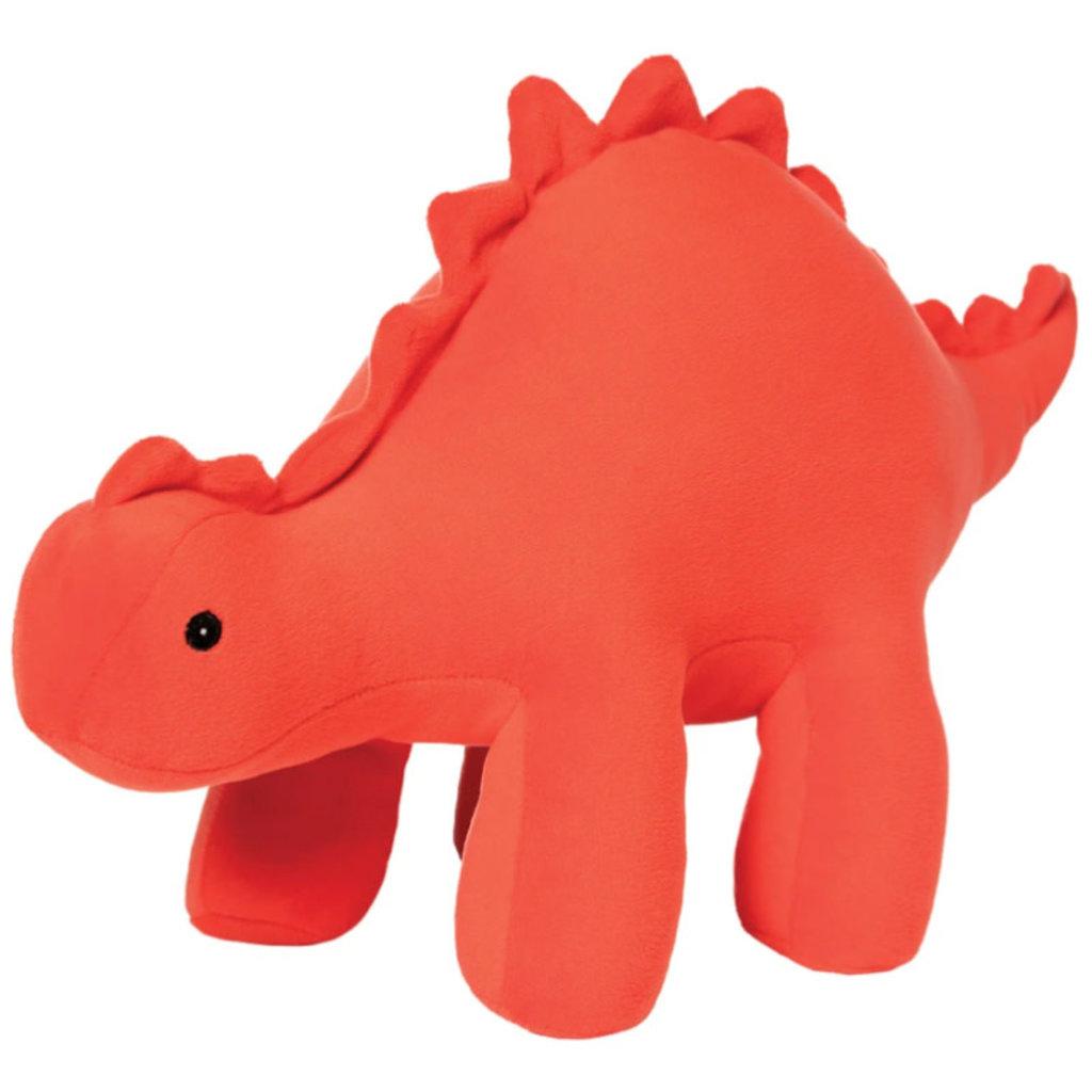 Manhattan Toy Gummy Velveteen Dino | Stegosaurus