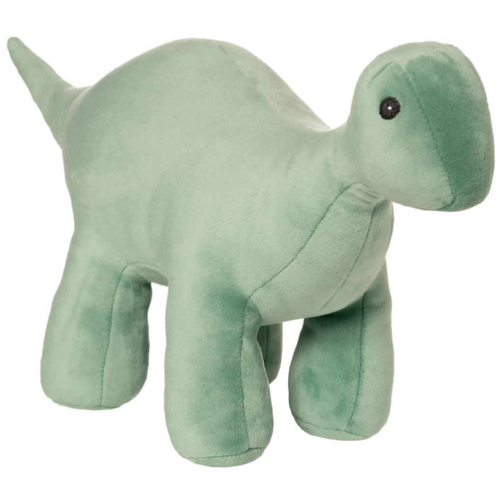 Manhattan Toy Velveteen Dino | Stomper Brontosaurus