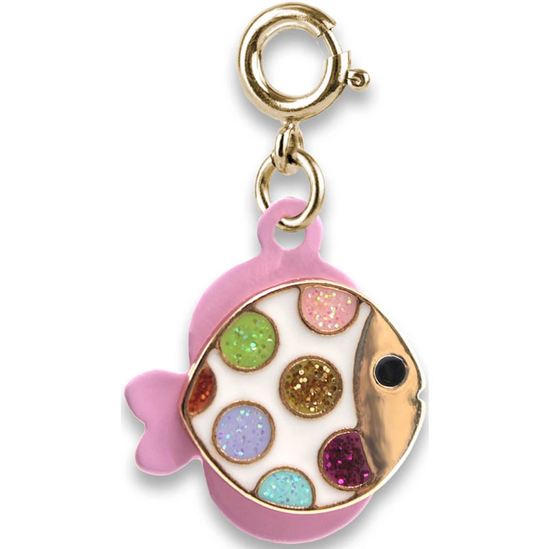 Charm It! Gold Tropical Fish Charm