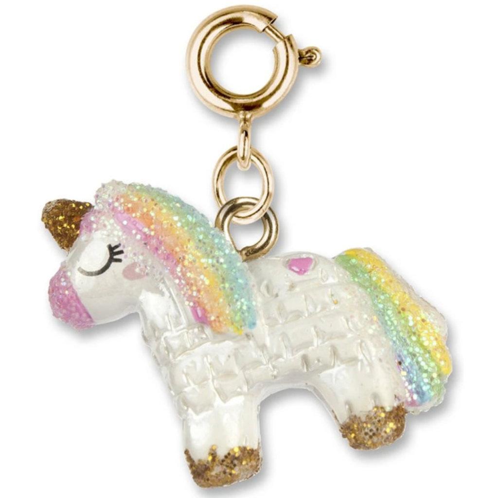 Charm It! Gold Unicorn Piñata Charm
