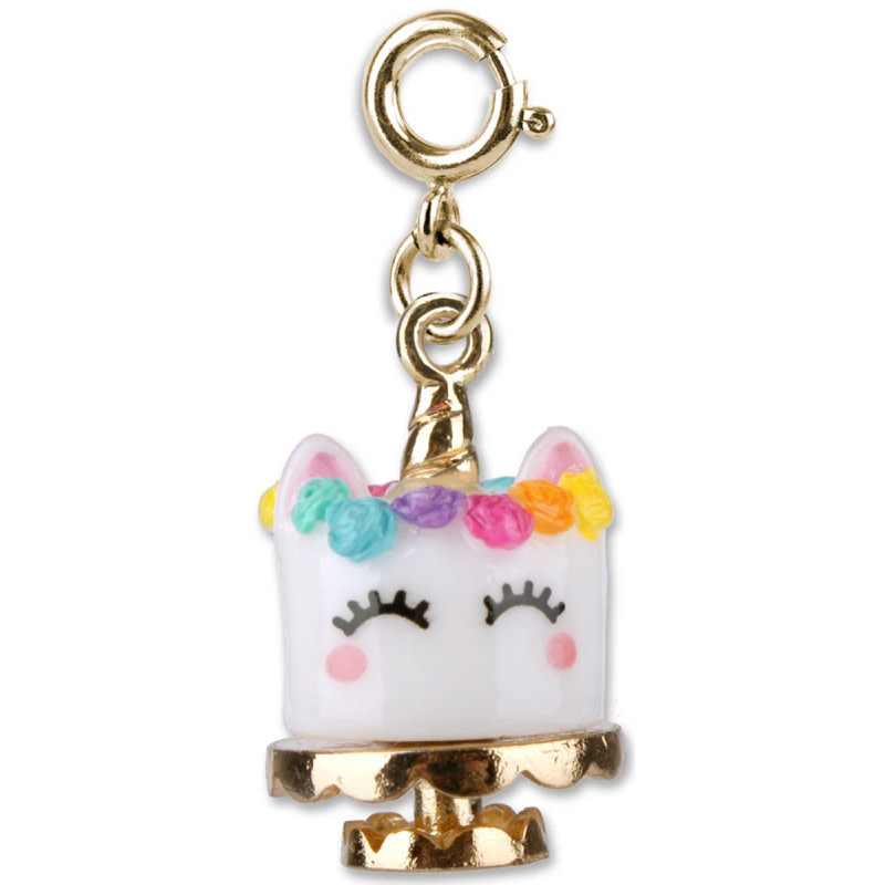 Charm It! Gold Unicake Charm