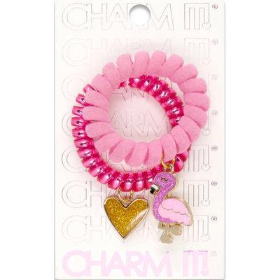 Charm It! Flamingo Coil Cord Set
