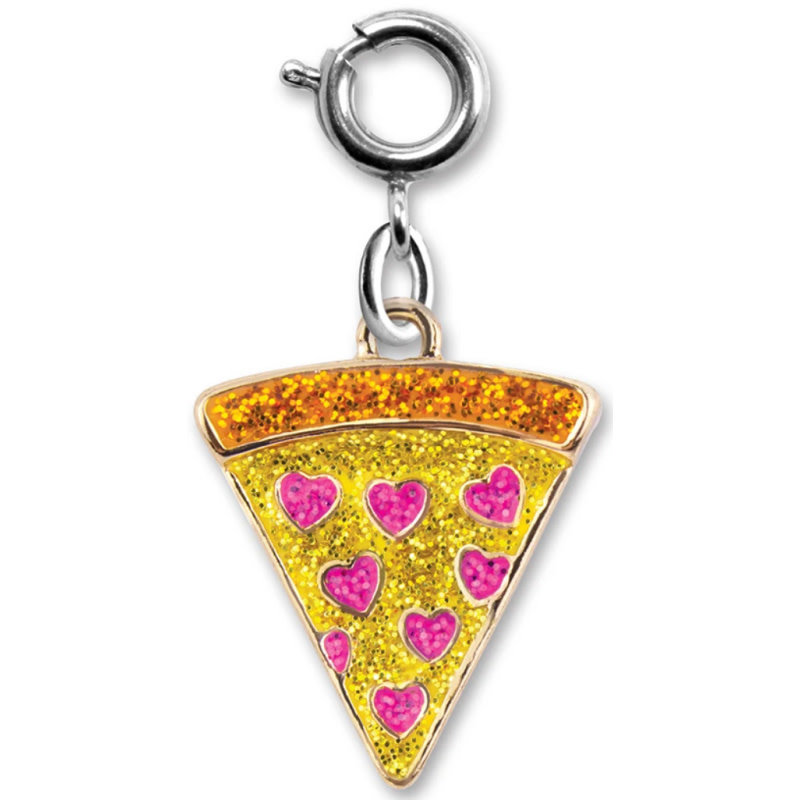 Charm It! Glitter Pizza Charm