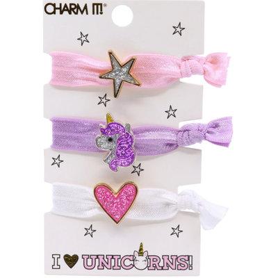 Charm It! Unicorn Hair Elastic Set