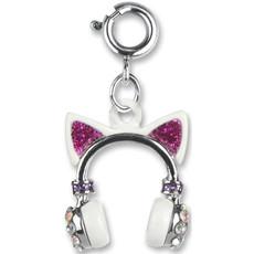 Charm It! Kitty Ears Headphones Charm