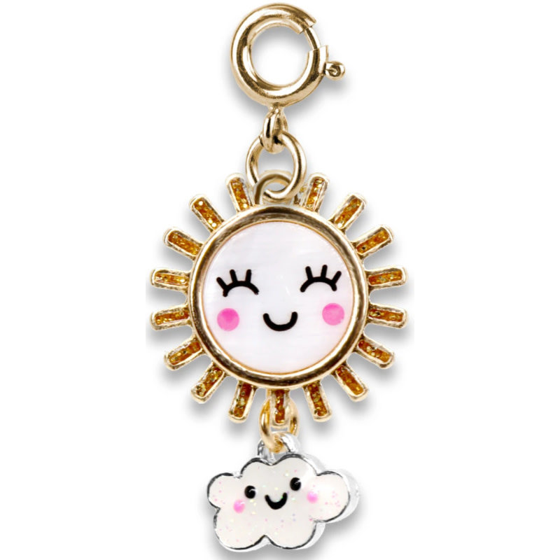 Charm It! Gold Sunshine Charm