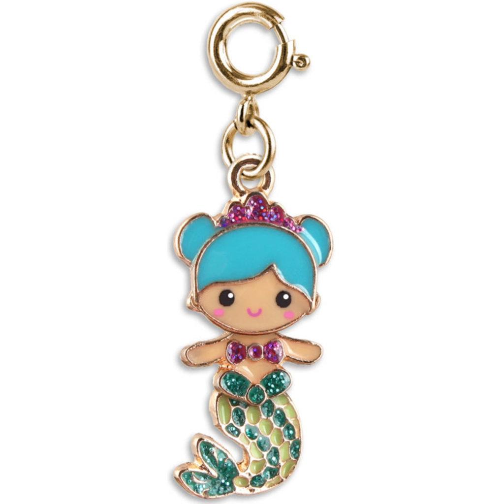 Charm It! Gold Swivel Mermaid Charm