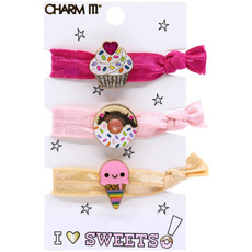 Charm It! Sweets Hair Elastic Set