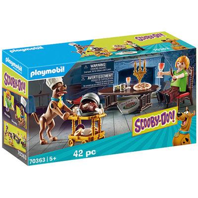 Playmobil Scooby-Doo! Dinner w/Shaggy
