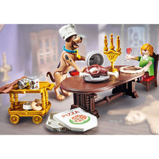 Playmobil Scooby-Doo! Dinner w/Shaggy