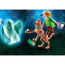 Playmobil Scooby-Doo! Scooby & Shaggy w/Ghost