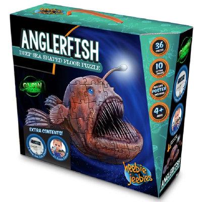 Heebie Jeebies Angler Fish Floor Puzzle