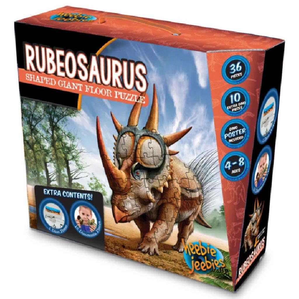Heebie Jeebies Rubeosaurus Floor Puzzle