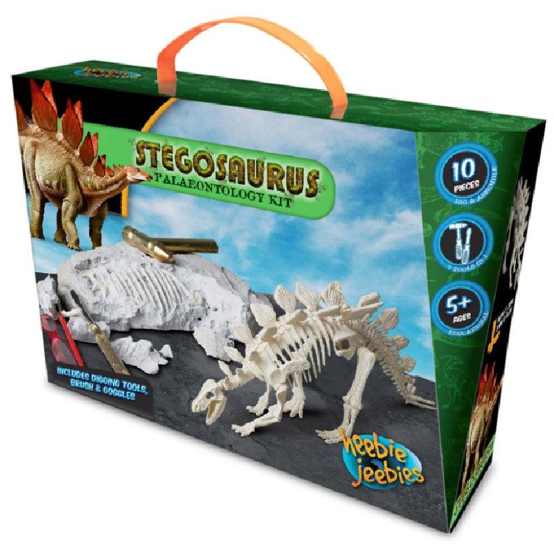 Heebie Jeebies Stegosaurus Paleontology Kit
