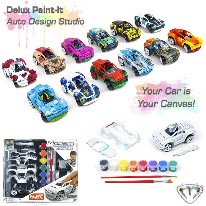 Modarri Cars S2 Paint-It Design Studio