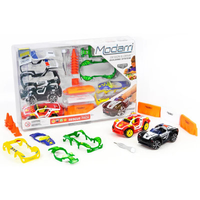 Modarri Cars Delux 2 Car Rescue Pack