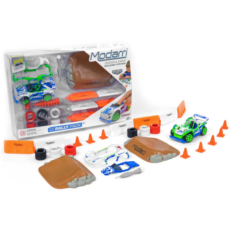 Modarri Cars Super Delux Rally Pack