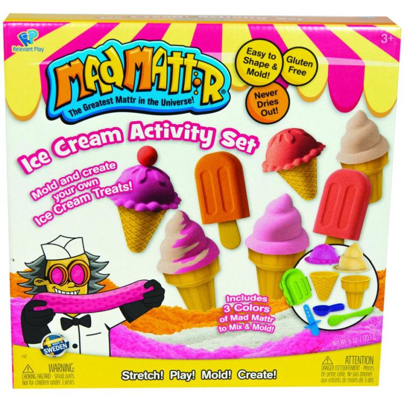 Mad Mattr Mad Mattr | Ice Cream Activity Set