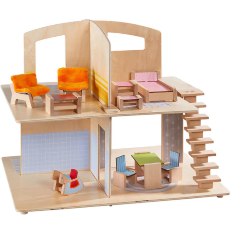 HABA Little Friends Dollhouse Townvilla