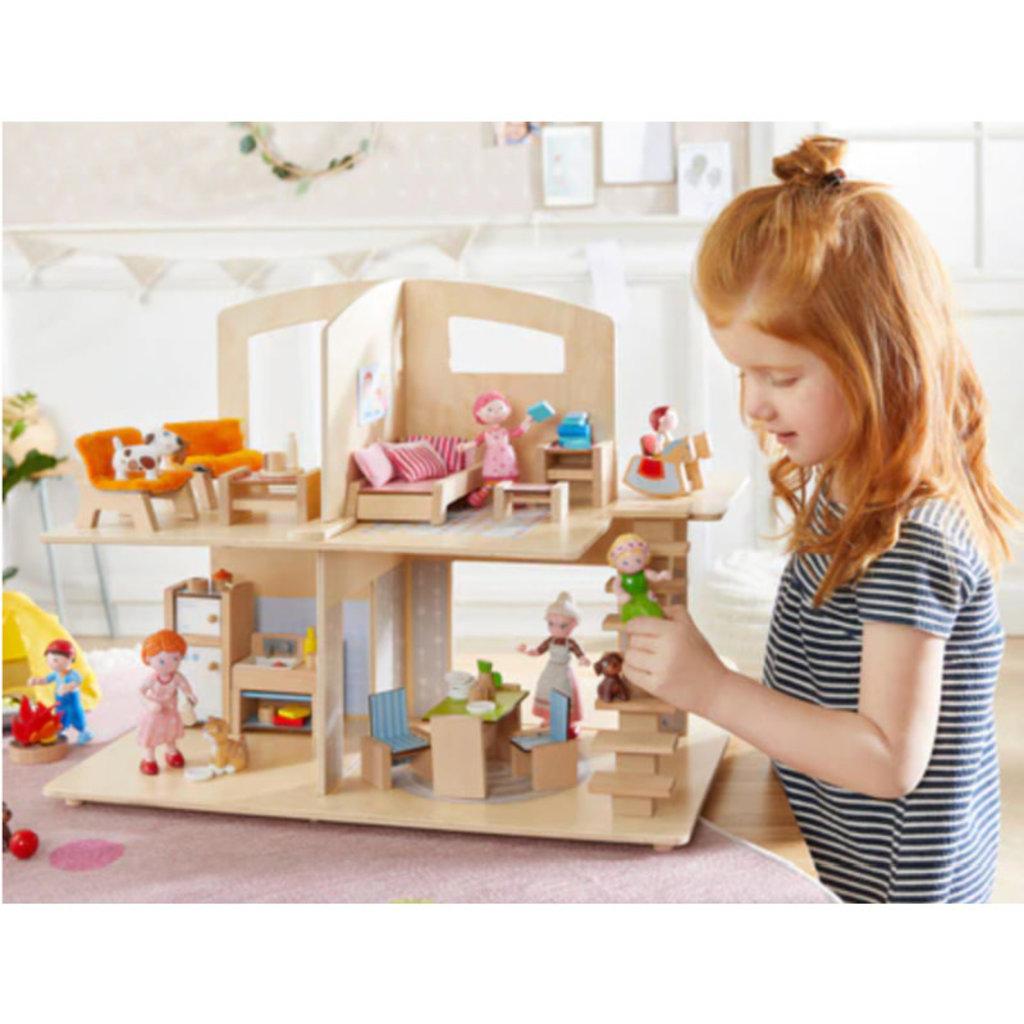 HABA Little Friends Dollhouse Townvilla