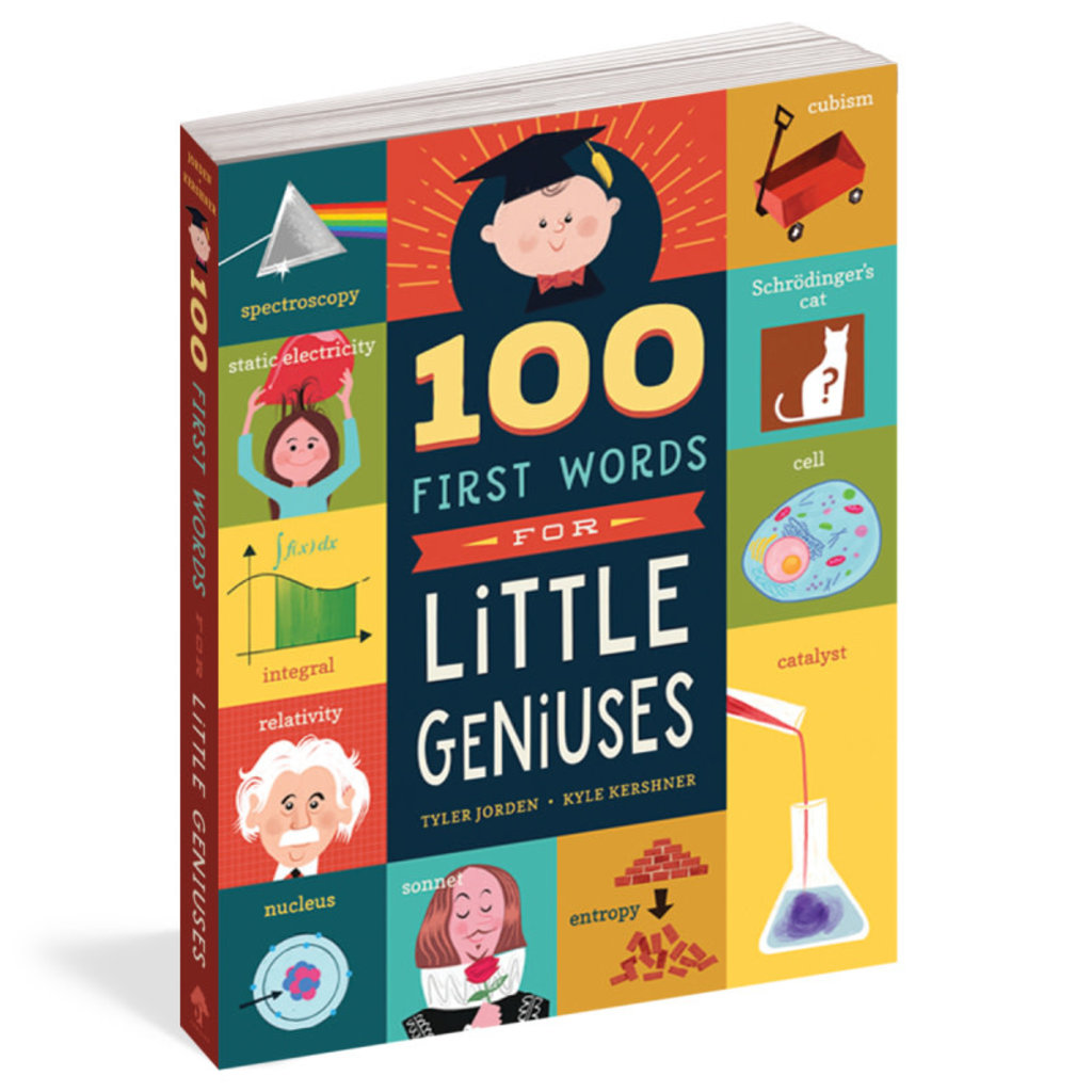 Workman Publishing 100 First Words for Little Geniuses