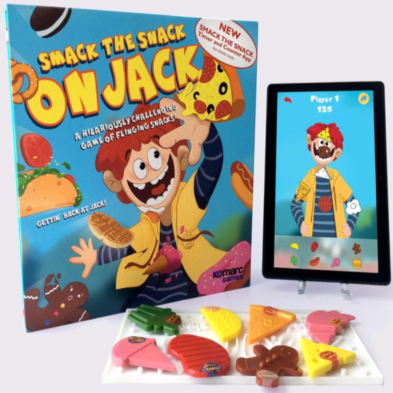 Komarc Games Smack the Snack on Jack