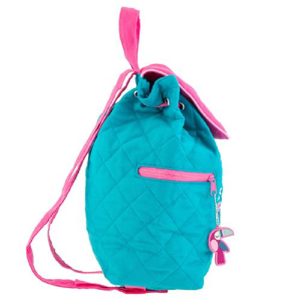 Stephen Joseph Quilted Backpack   Sloth