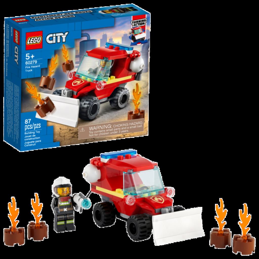 LEGO® City   Fire Hazard Truck