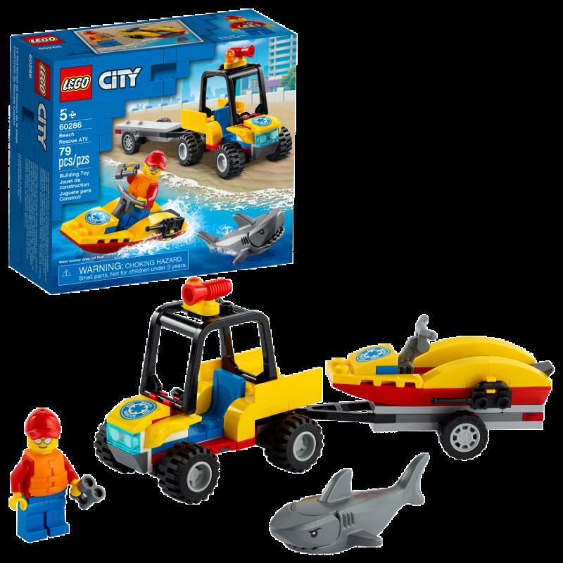 LEGO City Great Vehicles | Beach Rescue ATV