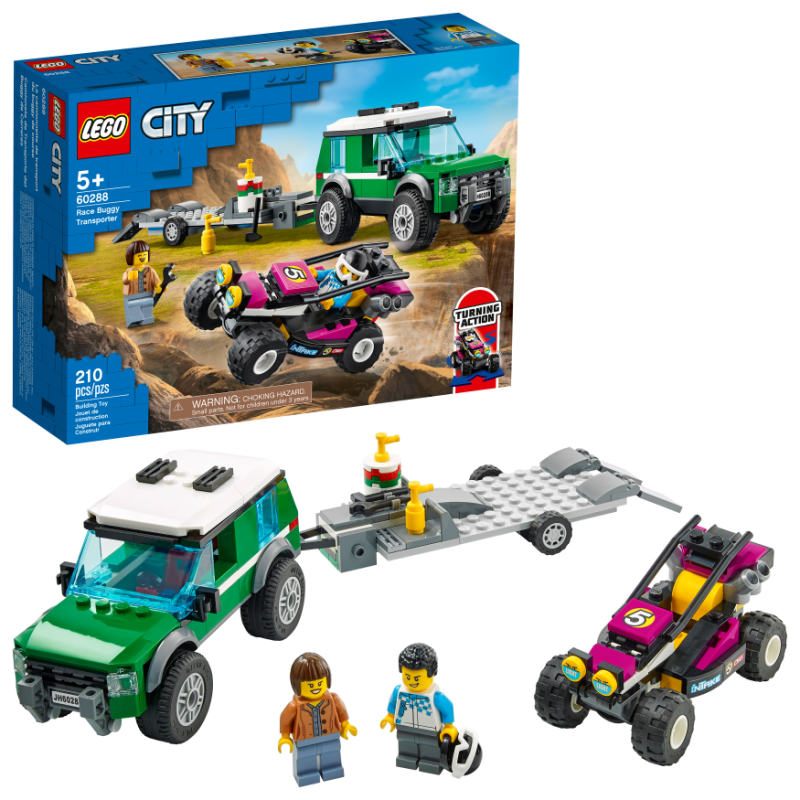 LEGO® City Great Vehicles | Race Buggy Transporter