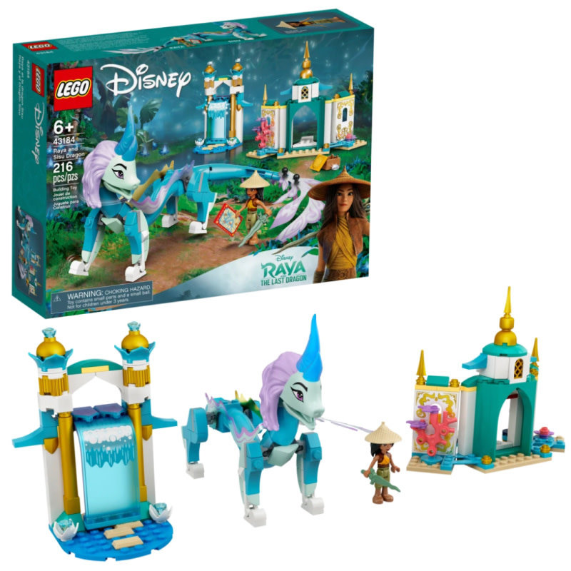 LEGO® Disney Princess | Raya and the Sisu Dragon