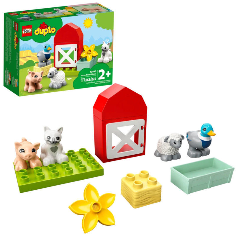 LEGO® DUPLO Town | Farm Animal Care