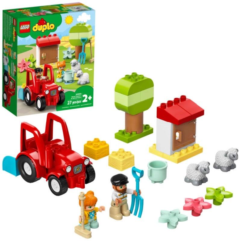 LEGO® DUPLO Town | Farm & Tractor Animal Care
