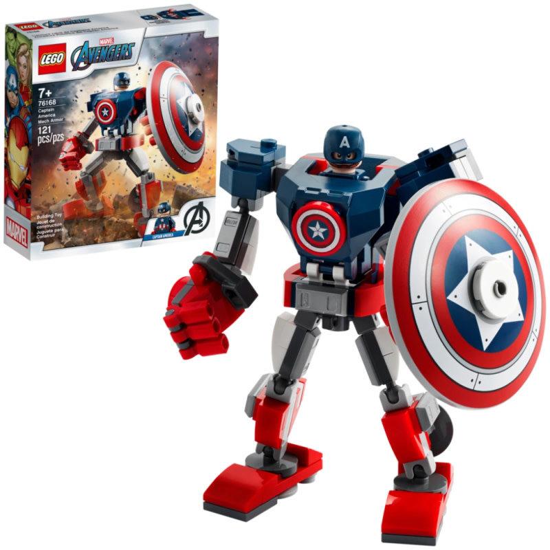 LEGO® Super Heroes | Captain America Mech Armor