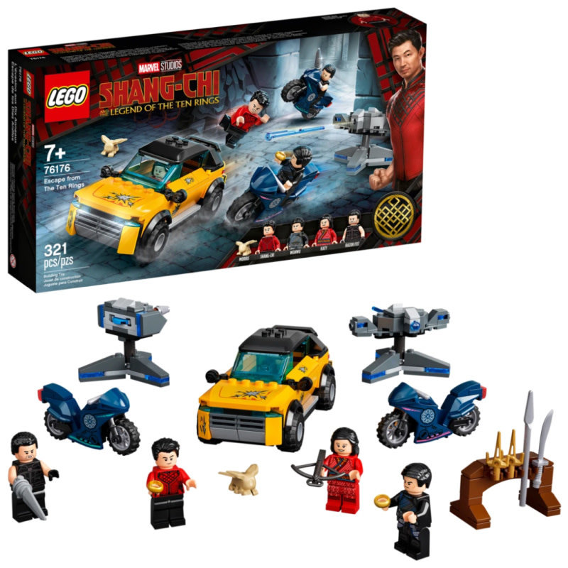 LEGO® Super Heroes | Escape from the Ten Rings